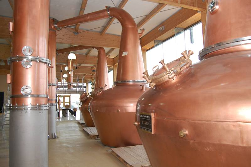 Boann Distillery Stills