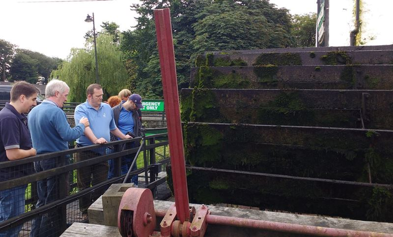 Kilbeggan Water Wheel