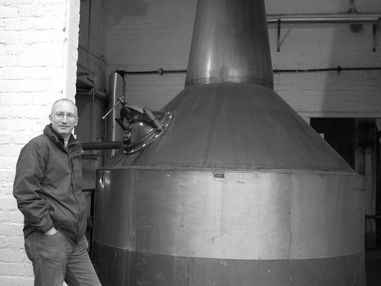 Paul Quin at Glenturret Distillery, Highlands